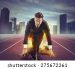 fiery and determined... | Shutterstock . vector #275672261