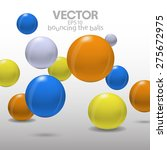 vector colorful background with ... | Shutterstock .eps vector #275672975