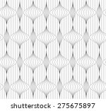 monochrome abstract geometrical ... | Shutterstock .eps vector #275675897