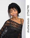 young african american girl  in ... | Shutterstock . vector #2756798