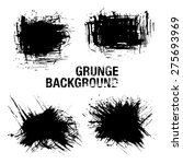 grunge elements   illustration | Shutterstock .eps vector #275693969