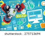 web design media content light... | Shutterstock . vector #275713694