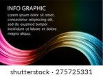 dark pink brown blue light...   Shutterstock .eps vector #275725331