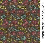 bakery background | Shutterstock .eps vector #275728664