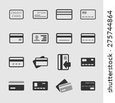 paying icons | Shutterstock .eps vector #275744864