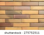 yellow brick wall | Shutterstock . vector #275752511