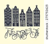 vector illustration of a bike... | Shutterstock .eps vector #275752625