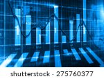 stock market chart   Shutterstock . vector #275760377