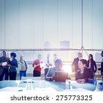 business people meeting... | Shutterstock . vector #275773325