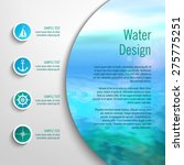 Vector Marine Template With...