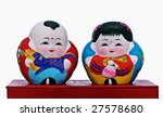 Hand Painted Chinese Dolls ...