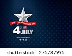 independence day 4 th july.... | Shutterstock .eps vector #275787995