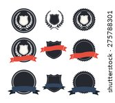 label ribbon icons | Shutterstock .eps vector #275788301