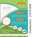 colorful health care template ... | Shutterstock .eps vector #275791349