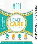 health care center flyer... | Shutterstock .eps vector #275791361