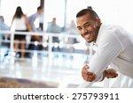 portrait of man in office... | Shutterstock . vector #275793911
