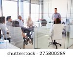 business meeting in a modern... | Shutterstock . vector #275800289
