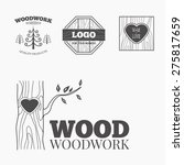 woodworking badges logos and... | Shutterstock .eps vector #275817659