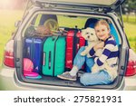 summer vacation  young girl... | Shutterstock . vector #275821931
