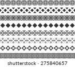 set of eight illustrated... | Shutterstock .eps vector #275840657