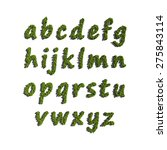 text create by tree for the... | Shutterstock . vector #275843114