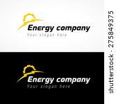 energy company logo. electrical ... | Shutterstock .eps vector #275849375