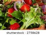 Macro Photo Of A Delicious Salad