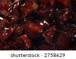 meat marinated in teriyaki sauce | Shutterstock . vector #2758629