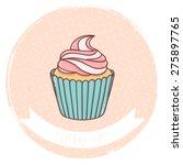 illustration of cute cartoon... | Shutterstock .eps vector #275897765