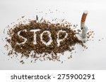 concept quit smoking | Shutterstock . vector #275900291