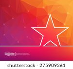 abstract creative concept... | Shutterstock .eps vector #275909261