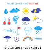 Vector Collection Of Felt Pen...