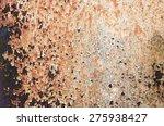 rusty metal background | Shutterstock . vector #275938427