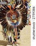 Native American Dancers At A...