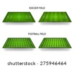 3d soccer and american football ... | Shutterstock .eps vector #275946464