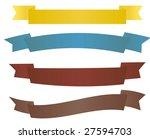 banners   vector image | Shutterstock .eps vector #27594703