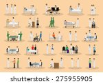 medical staff and patients... | Shutterstock .eps vector #275955905