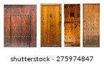 Set Of Vintage Wooden Doors....