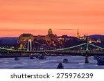 beautifil night view of... | Shutterstock . vector #275976239
