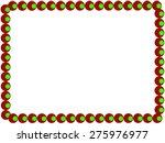 stylized border frame  | Shutterstock . vector #275976977