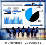digital marketing graph... | Shutterstock . vector #276005351