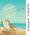 summer holiday   Shutterstock .eps vector #276016745