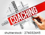 coaching word cloud  business... | Shutterstock . vector #276032645