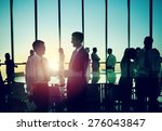 business people discussion... | Shutterstock . vector #276043847
