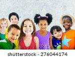 diversity children friendship... | Shutterstock . vector #276044174