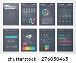 colorful flat infographic...