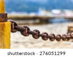 chains on the city of paraty ... | Shutterstock . vector #276051299