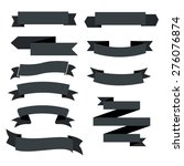 ribbon icons | Shutterstock .eps vector #276076874
