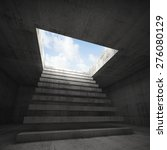 stairway to heaven  abstract... | Shutterstock . vector #276080129