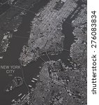 New York City  Satellite Map...